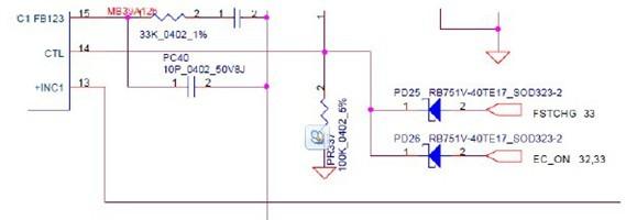 仁宝la-3571p充电电路分析(联想天逸f41)