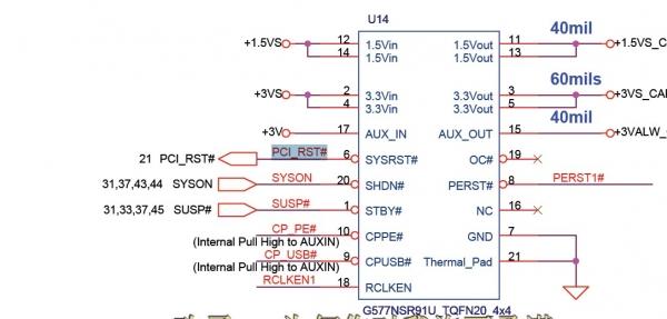 宏基ms2361电路图