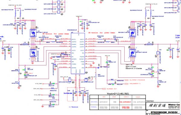 联想a10-70主板电路图