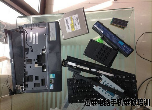 宏基笔记本电脑4736zg拆机清灰图解