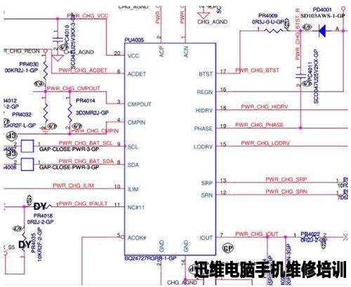 戴尔pp18l电池电路图