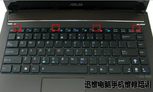 asus华硕n82笔记本拆机图解