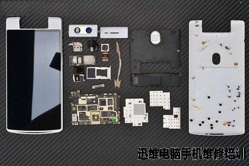 手机马达内部结构放大图