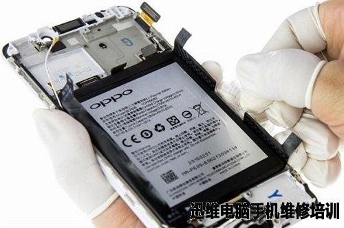 oppor9金属边框手机套壳如何取出