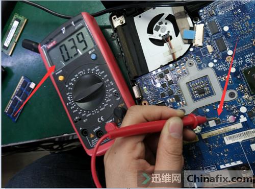 联想笔记本g480二修,加电不显示维修案例