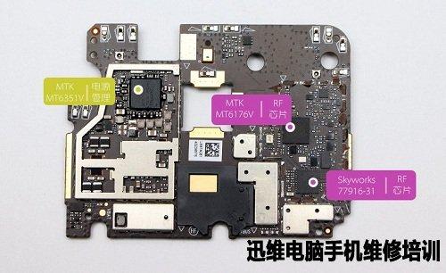 乐视图纸2拆机打印教程_迅维电脑维修v图纸7780彩色手机图解图片