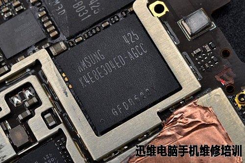 智能金立手机电路板图片