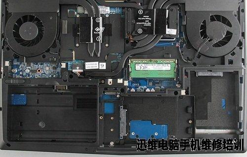 电脑拆机_神舟ZX7 SP5D1拆机图解_迅维电脑维修培训