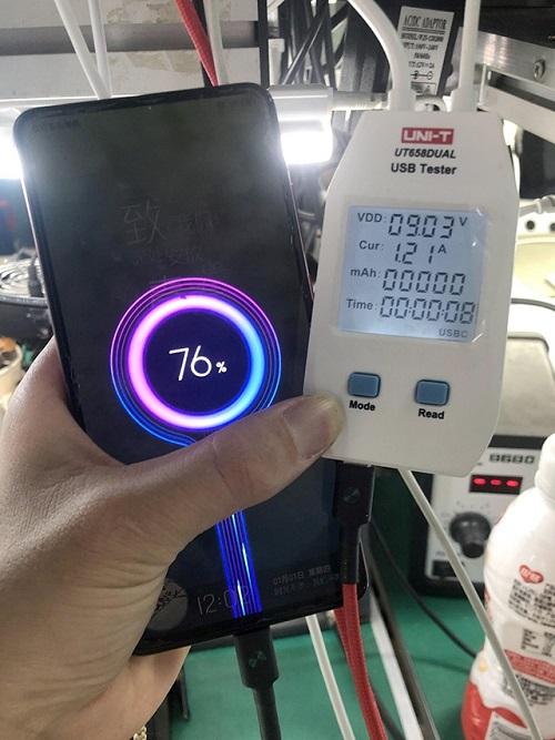 二修红米K20手机不开机,无法充电故障 图9