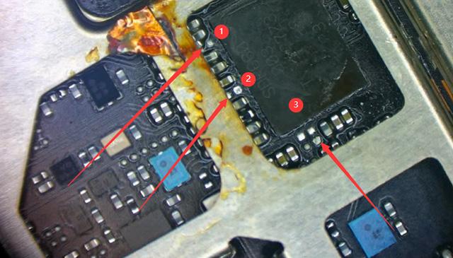 二修vivo x21手机WiFi打不开,无信号不能打电话维修 图3