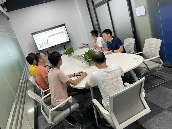 迅维培训2021年实地手机68期学员毕业面试会