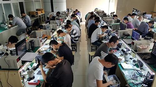 迅维培训2021年实地手机68期学员毕业面试会 图7