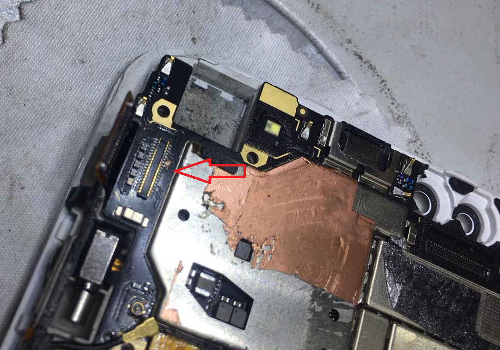 进水ViVO X9S手机发烫不显示维修