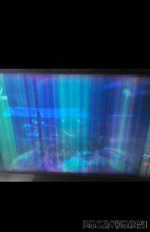 电脑液晶显示器报价_32寸杂牌液晶电视开机四周发黑然后图像拖尾维修一例_电脑维修 ...